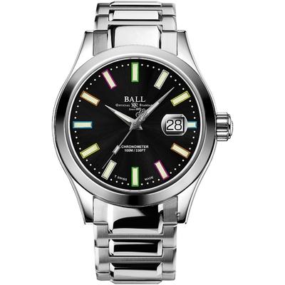 BALL 波爾錶 Engineer III Marvellight Chronometer機械錶(NM9028C-S29C-BK)黑/43mm