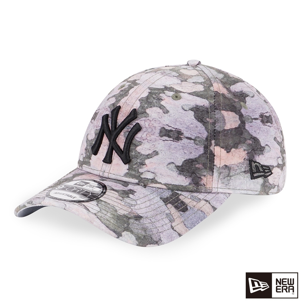 NEW ERA 9FORTY 940 NATURE TREE BARK 洋基 灰印花 棒球帽