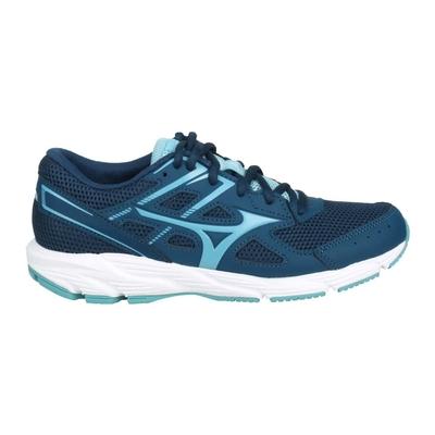 MIZUNO SPARK 6 女慢跑鞋-路跑 訓練 美津濃 K1GA210417 藍綠