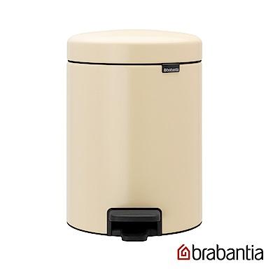 Brabantia NEWICON環保垃圾桶-5L杏仁黃