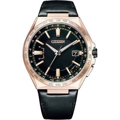 CITIZEN星辰 GENT S 時尚鈦金屬電波男錶(CB0217-04E)-42.5mm