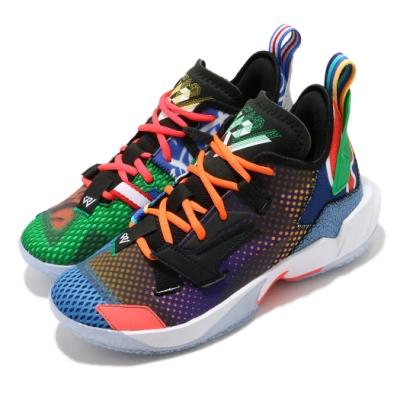 Nike 籃球鞋 Why Not Zer04 運動 童鞋 明星款 喬丹 避震 包覆 大童 球鞋 彩 DH0944100