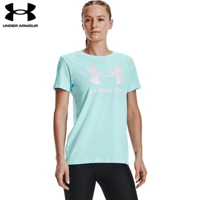 【UNDER ARMOUR】女 Training Graphics短T-Shirt