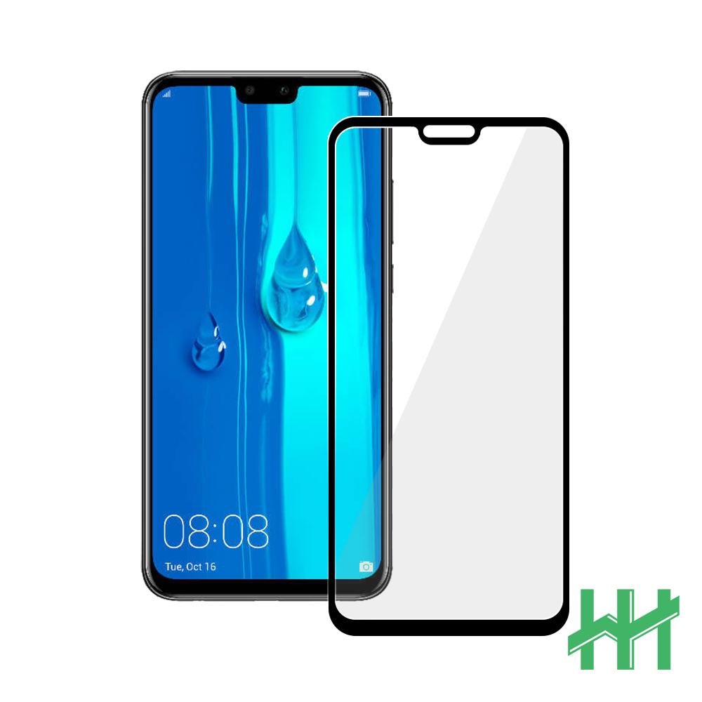 鋼化玻璃保護貼系列 HUAWEI Y9 (2019)(6.5吋)(全滿版黑)