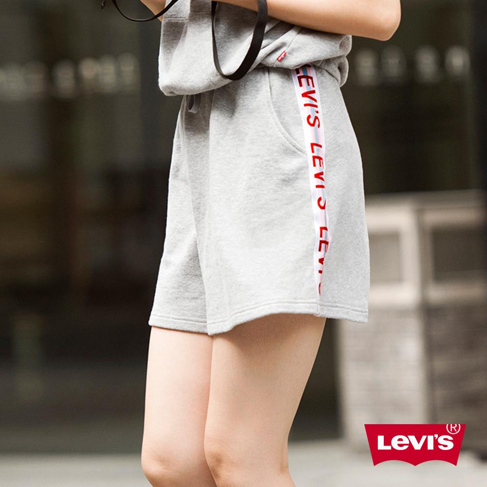 Levis 女款 短裙 LOGO滾邊