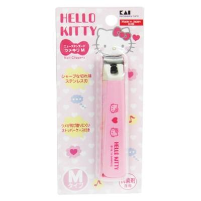 日本KAI貝印Hello Kitty指甲刀-M×2入