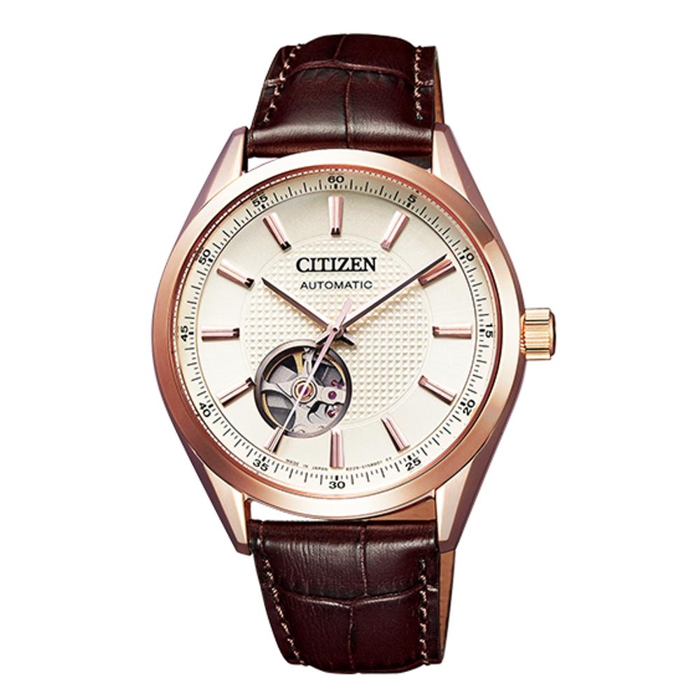 CITIZEN星辰 開芯鏤空時尚機械腕錶(NH9110-14A) @ Y!購物
