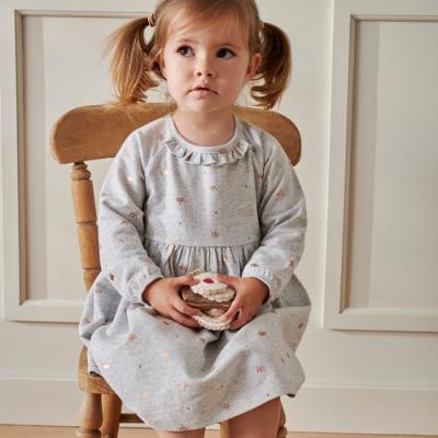 澳洲Purebaby有機棉女童洋裝-2~4歲
