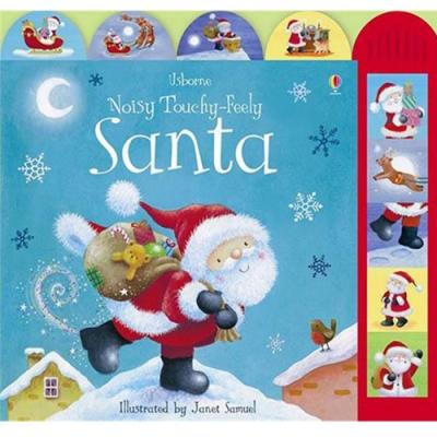 Noisy Touchy-Feely Santa 聖誕老公公的一天硬頁有聲書