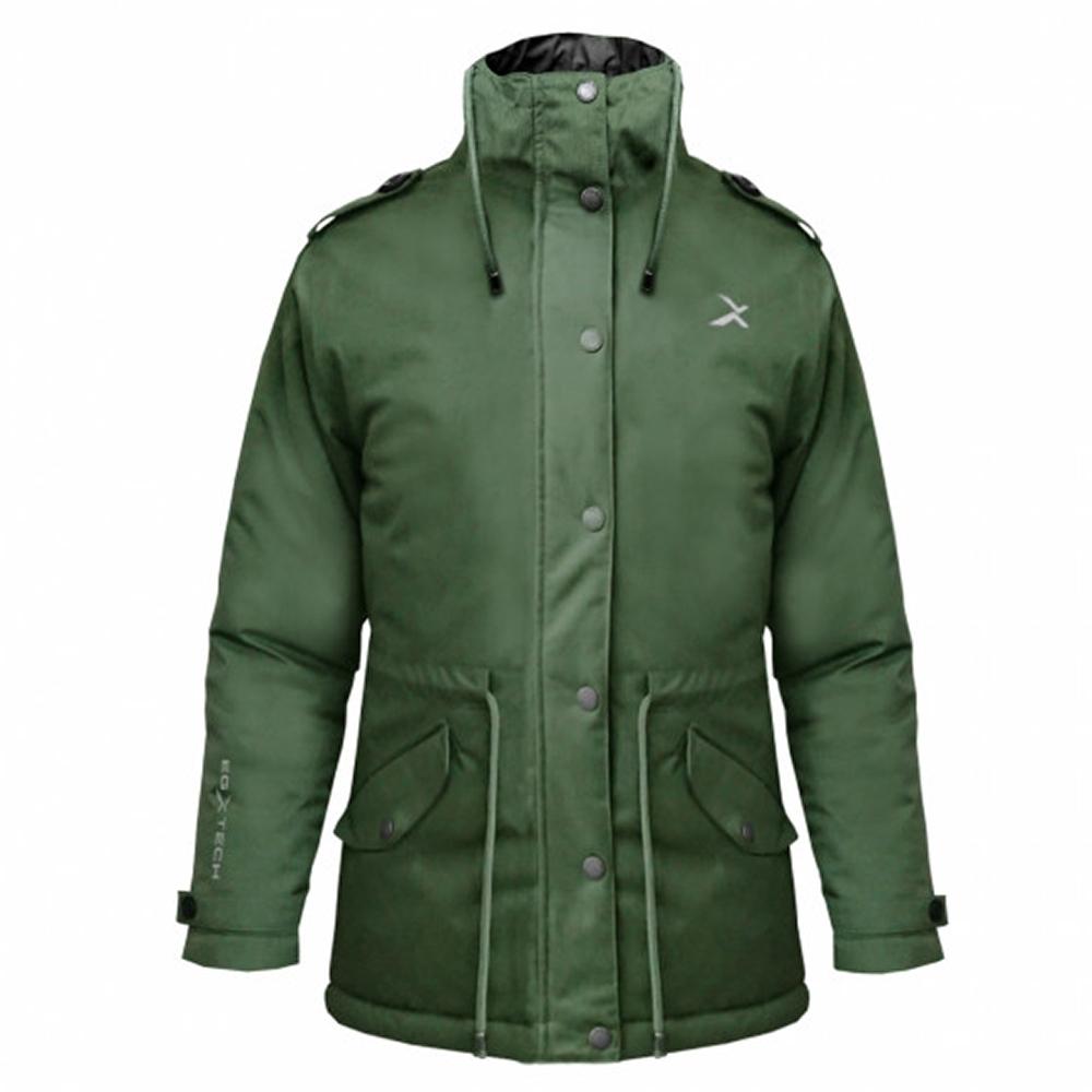 EGXtech 女款帕克大衣PK-M51W(軍綠)