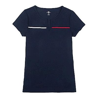Tommy Hilfiger 女 短袖 T恤 藍 0943