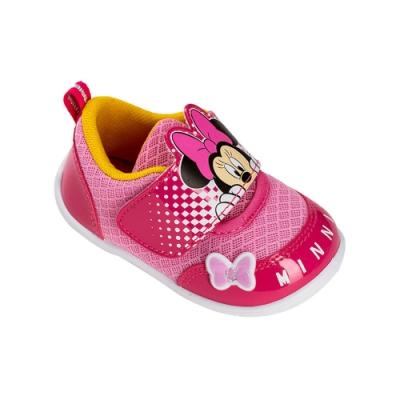 迪士尼童鞋  米妮 躲貓貓造型休閒童鞋-桃