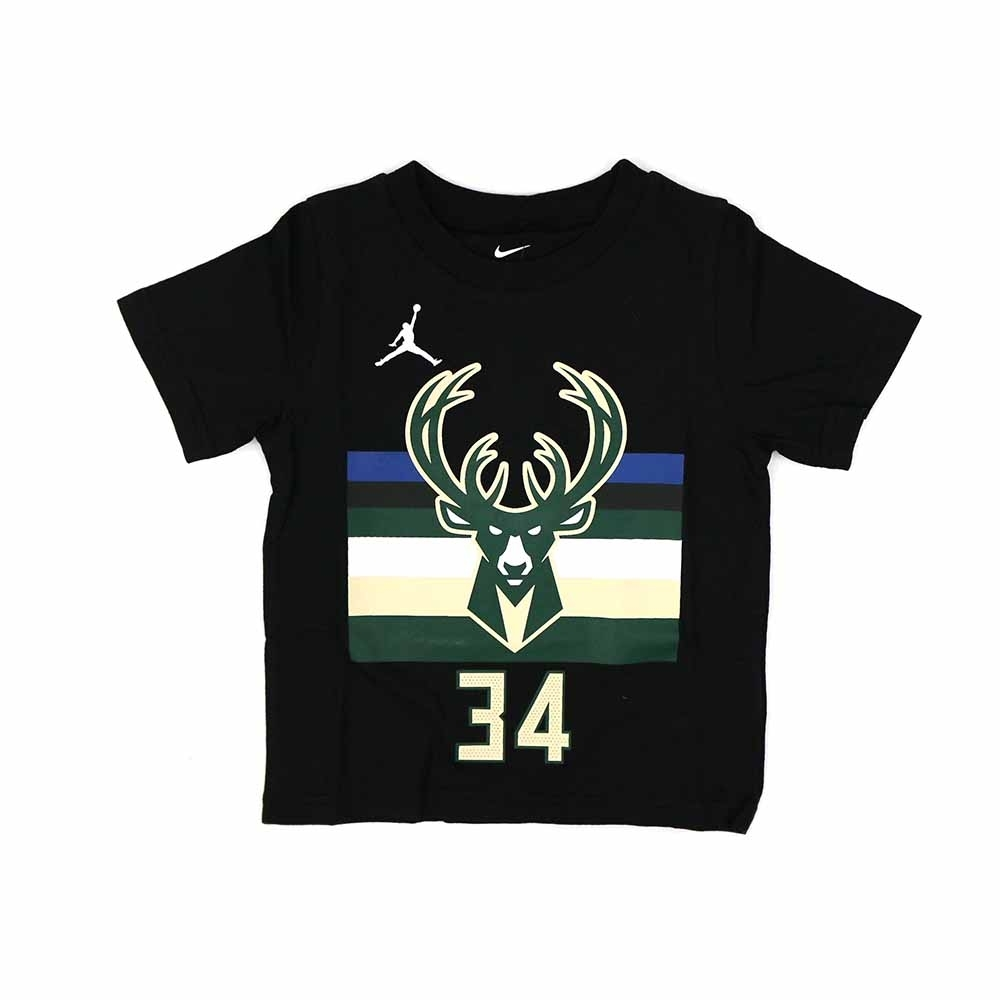 NIKE NBA Statement Edition 幼兒 短袖T恤 公鹿隊 Antetokounmpo
