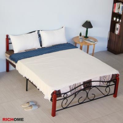 【RICHOME】經典5呎雙人床