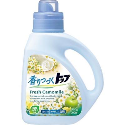 日本 LION TOP二合一香氛洗衣精900g-藍