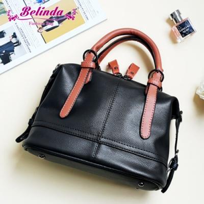【Belinda】艾米利亞手提側背包(黑色)