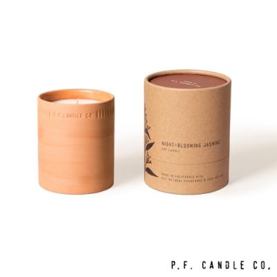 美國 P.F. Candles CO. 植物陶罐系列 夏夜茉莉 手工香氛蠟燭 226g