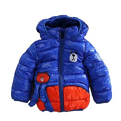 鋪棉厚款保暖連帽外套 k60913 魔法Baby