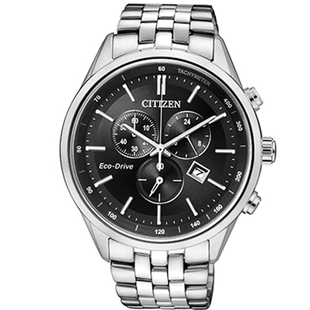 CITIZEN Eco-Drive 科技百搭計時腕錶(AT2140-55E)42mm