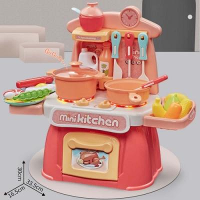 Joy toy 兒童辦家家酒小廚房遊戲組(廚房遊戲)36m+