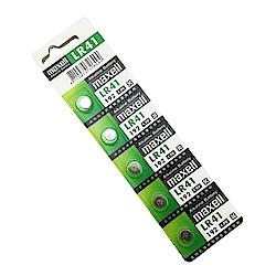 日本品牌 水銀電池 maxell LR41(二卡10入)