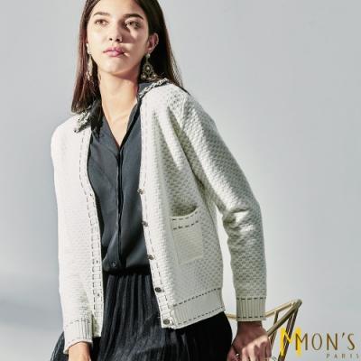 MONS 羊毛針織小香外套