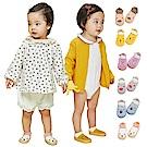 JoyNa 寶寶學步鞋 嬰兒軟底室內鞋 地板鞋-2入