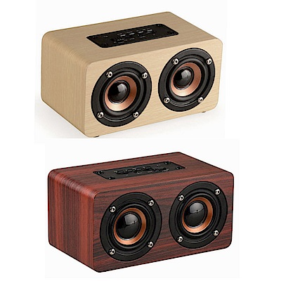 潮時尚木質系隨身攜帶藍牙音箱擴音喇叭