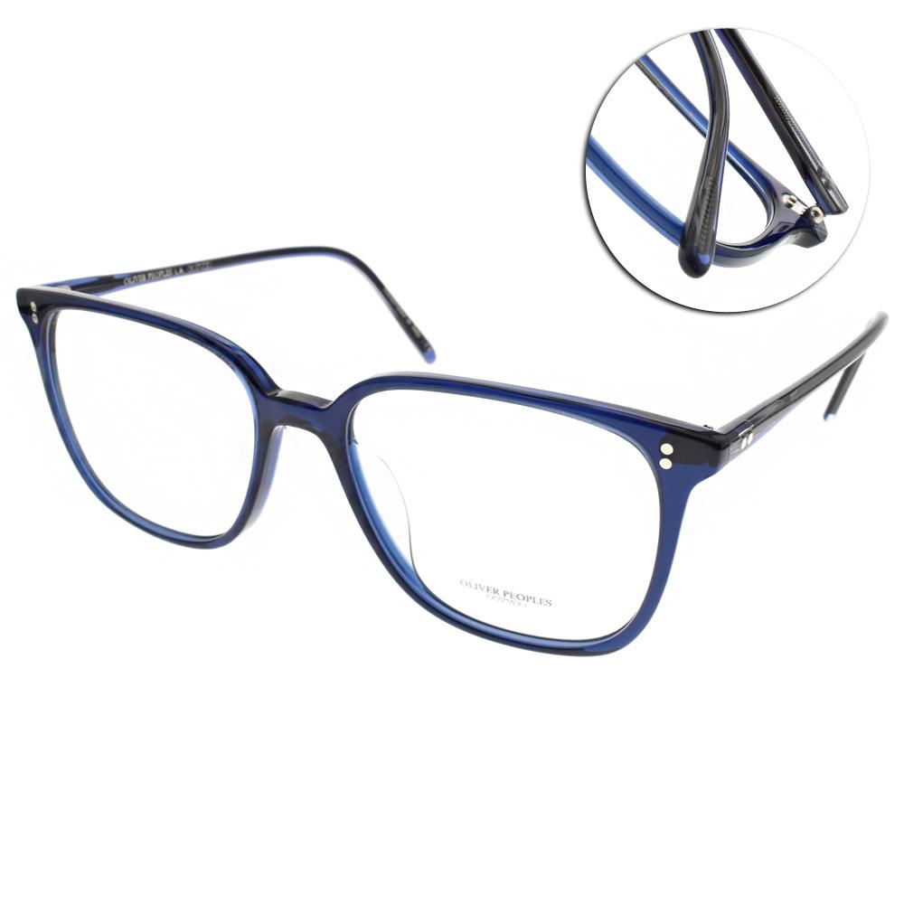 OLIVER PEOPLES眼鏡 百搭人氣方框/藍#COREN 1566