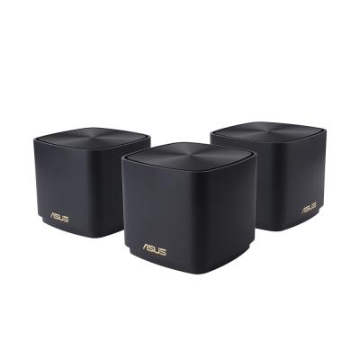 ASUS 華碩 ZenWiFi AX Mini (XD4) AX1800M Mesh WiFi 6 無線路由器(分享器)三入組(黑色)