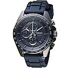 SEIKO 精工 三眼競速計時腕錶(SSB327P1)
