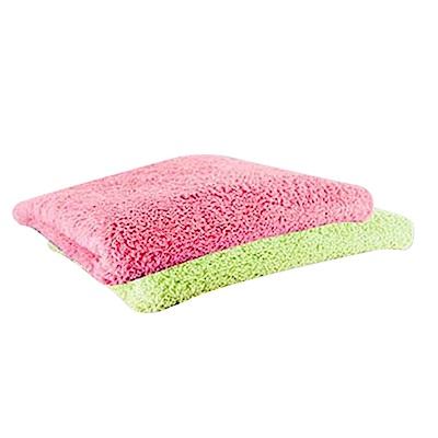 金德恩 台灣製造 五星飯店等級 雪花絨超細纖維小手巾 3入組