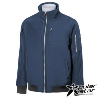 【PolarStar】中性 防風保暖飛行外套『深藍』P20217