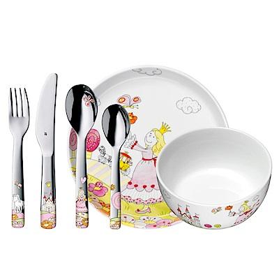 WMF1294159974 公主兒童餐具組6入
