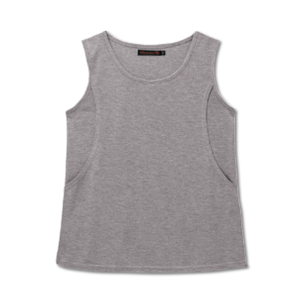 日本雜誌款-百搭哺乳無袖上衣 product image 1