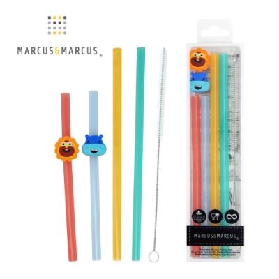 【MARCUS&MARCUS】親子家庭吸管套組(2組入)