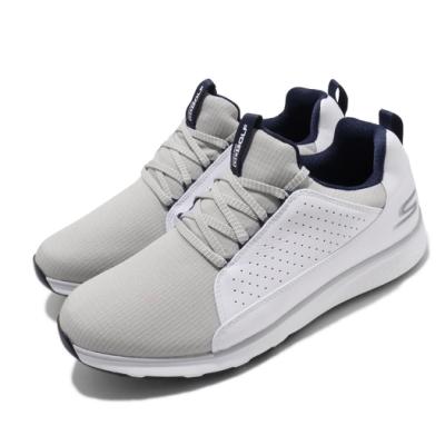 Skechers 高爾夫球鞋 Mojo Elite 運動 男鞋 Go Golf 緩衝 高抓地力 穩定 白 灰 54539WGY