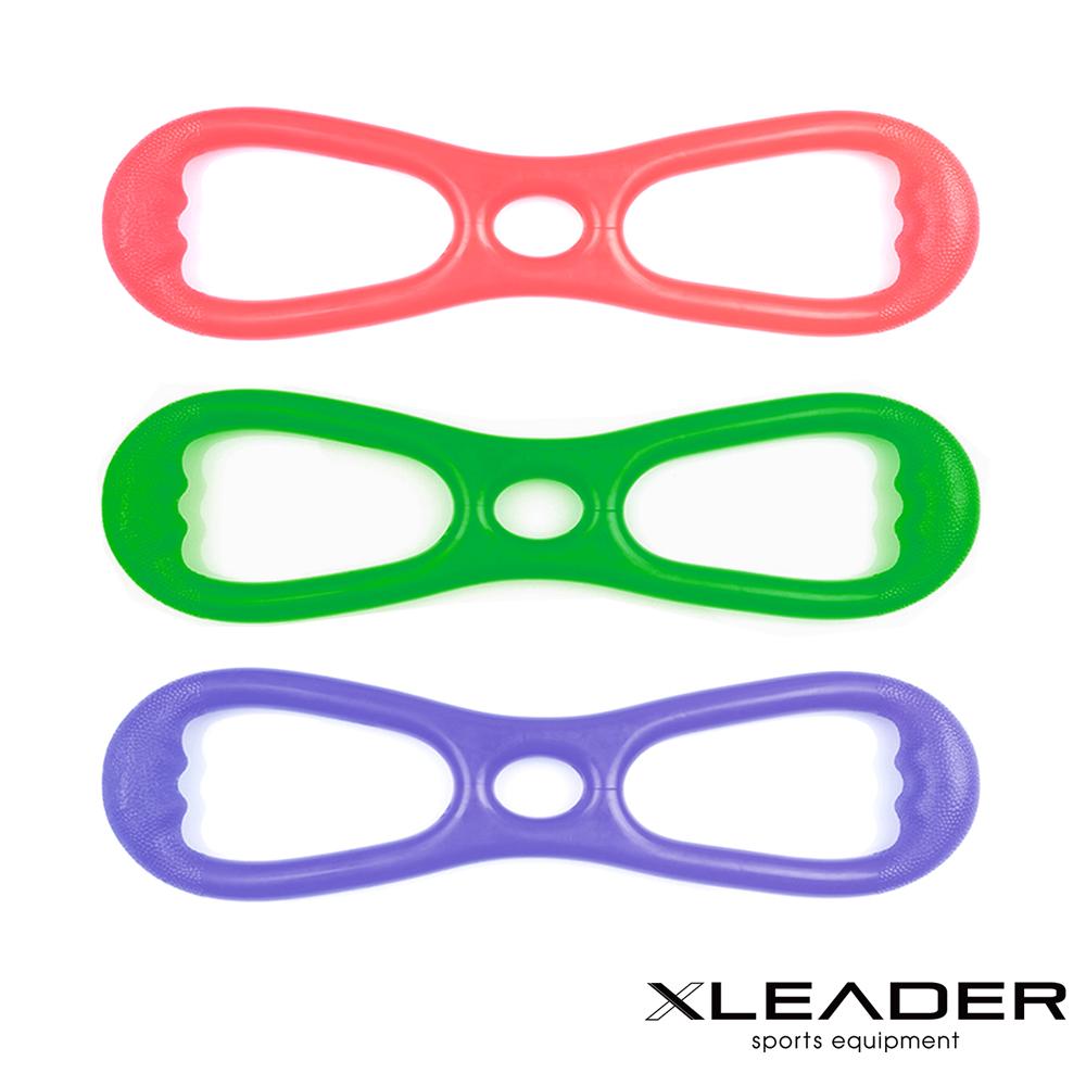Leader X 8字彈力帶 擴胸拉力帶 顏色隨機 - 急