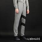 L'ARMURE 男裝 斜條造型 西裝褲