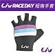 Liv Race day短指手套 黑/條紋 product thumbnail 1