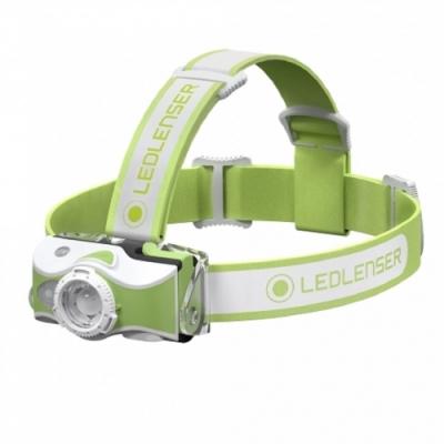 LED LENSER MH7 專業伸縮調焦充電型頭燈 600流明 綠/白