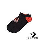 CONVERSE 火鶴隱形襪 (黑紅) 10008044-A02