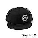 Timberland 男款黑色透氣網布棒球帽 | A1EJU