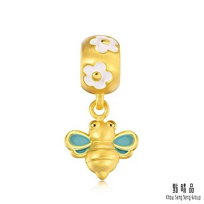 點睛品 Charme 可愛小蜜蜂 黃金串珠
