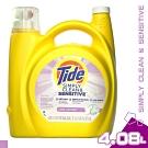 美國 TIDE SIMPLY CLEAN 敏感肌膚 洗衣精 4.08L