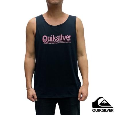 【QUIKSILVER】NEW SLANG TANK 背心 黑
