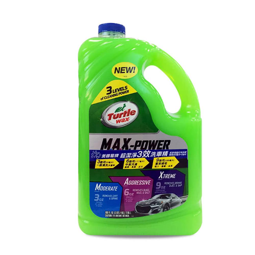 美國龜牌超潔淨3效洗車精 T597