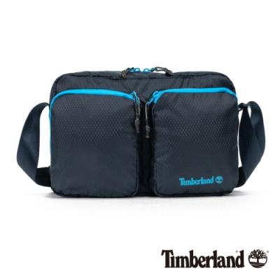 Timberland 中性深寶石藍色休閒斜背包 A2EWR