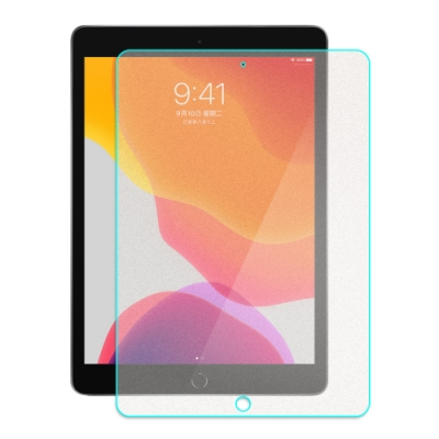 【SHOWHAN】iPad 10.2吋 9H電競級霧面鋼化玻璃保護貼