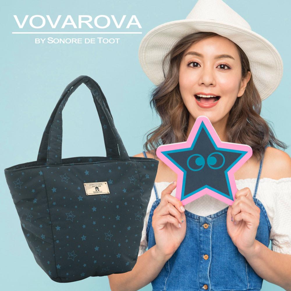 VOVAROVA-好朋友!手提托特包-滿天星莎-環遊世界系列
